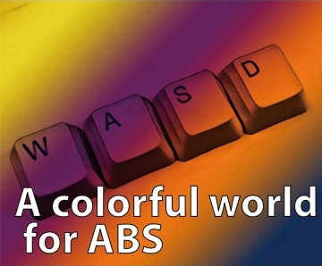 A colorful world for ABS